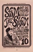 Sam the Sham & the Pharoahs Handbill