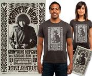 Young Jerry Garcia Poster/Postcard/T-Shirt Bundle