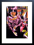 Grace Slick Framed Fine Art Print