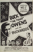 Buck Owens and the Buckaroos Poster