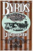 The Byrds Handbill