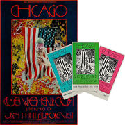 Chicago Poster/Ticket Set