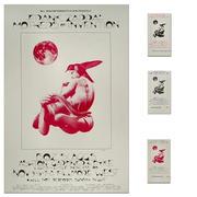 Frank Zappa Poster/Ticket Set