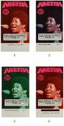 Aretha Franklin Vintage Ticket
