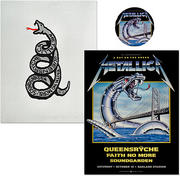 Metallica Poster/Pelon/Pin Bundle