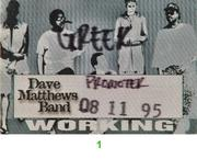 Dave Matthews Band Backstage Pass