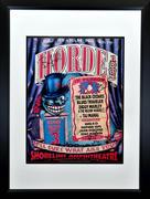 H.O.R.D.E. Festival Framed Poster