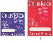 Chris Rock Backstage Pass