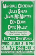 Marshall Crenshaw Poster