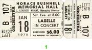 LaBelle Vintage Ticket