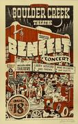 Benefit for the Boulder Creek Theater Poster