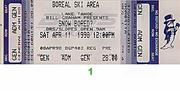 NOFX Vintage Ticket