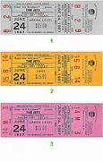 The Jets Vintage Ticket