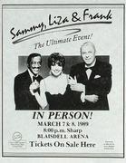 Sammy Davis Jr. Handbill