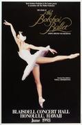 The Bolshoi Ballet Poster