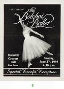 The Bolshoi Ballet Backstage Pass