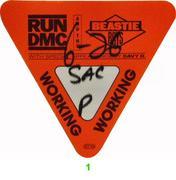 Run-D.M.C. Backstage Pass