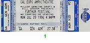 Furthur Festival Vintage Ticket