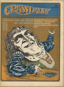 Crawdaddy Magazine June 11, 1972 Magazine