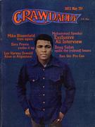 Crawdaddy Magazine May 1973 Vintage Magazine