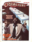 Crawdaddy Magazine July 1973 Vintage Magazine