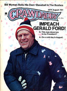 Crawdaddy Magazine August 1974 Vintage Magazine