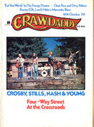 Crawdaddy Magazine October 1974 Magazine