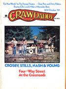 Crawdaddy Magazine October 1974 Vintage Magazine