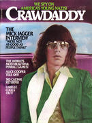 Crawdaddy Magazine August 1976 Magazine