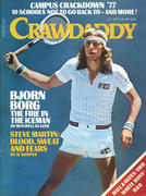 Crawdaddy Magazine October 1977 Magazine
