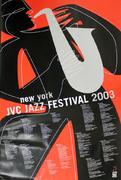 JVC Jazz Festival 2003 Poster