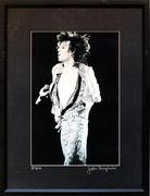 Mick Jagger Framed Vintage Print