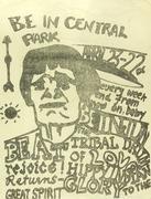 Be-In Handbill