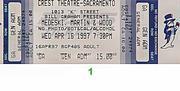 Medeski Martin & Wood Vintage Ticket