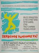 Amnesty International Benefit Poster