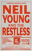 Neil Young & The Restless Poster
