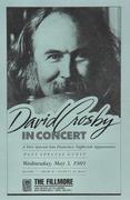 David Crosby Handbill