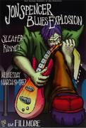 The Jon Spencer Blues Explosion Poster