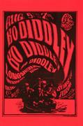 Bo Diddley Handbill