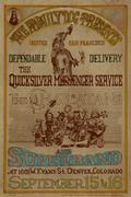 Quicksilver Messenger Service Handbill