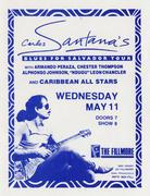 Carlos Santana Handbill