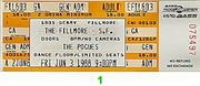 The Pogues Vintage Ticket