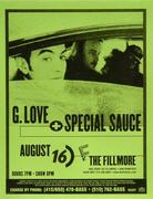 G. Love & Special Sauce Handbill