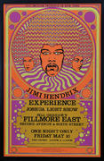 Jimi Hendrix Experience Framed Poster