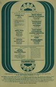 Jethro Tull Handbill