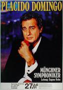 Placido Domingo Poster