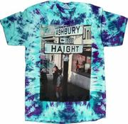 Haight Ashbury Street Sign Men's T-Shirt