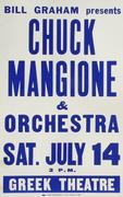 Chuck Mangione and His Orchestra Poster