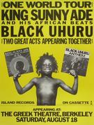King Sunny Ade and His African Beats Poster
