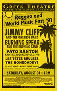 Jimmy Cliff Handbill